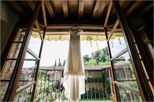 Getting ready Lake Garda wedding