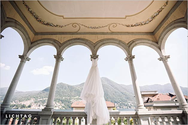 A joyful wedding on Lake Como and its amazing Villa del Babianello