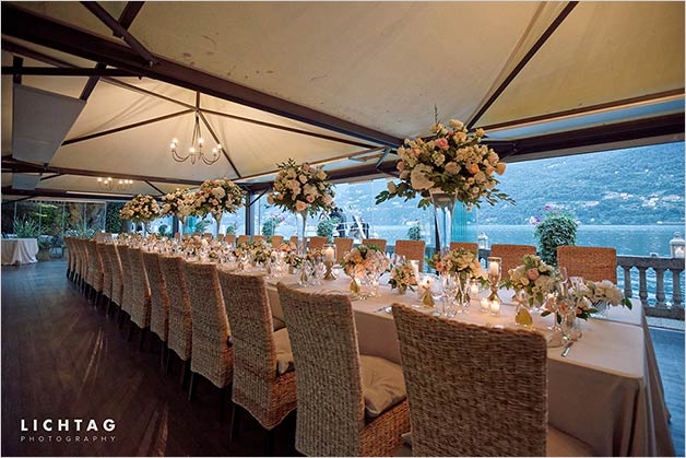 joyful wedding on Lake Como and its amazing Villa del Babianello