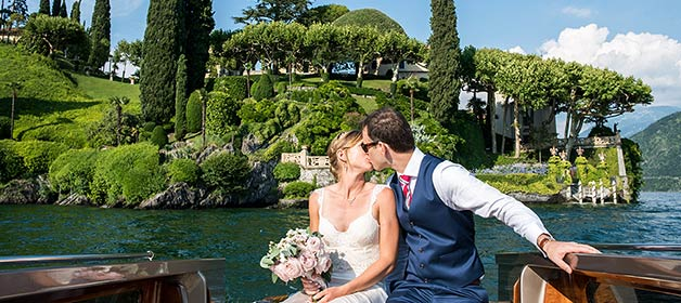 A fun and intimate Family Style Wedding on Lake Como
