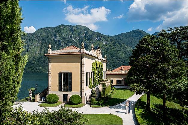 Family Style Wedding on Lake Como