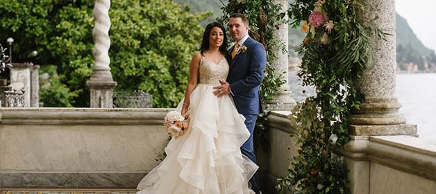 An Elopement at Villa Monastero in Varenna – Lake Como
