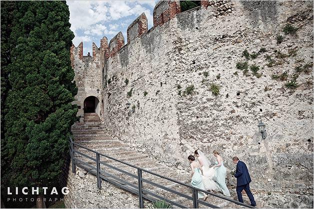Malcesine Castle wedding ceremony
