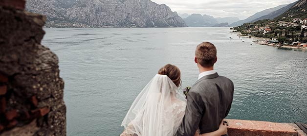 A Traditional Wedding at Malcesine Castle