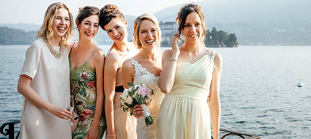 A Wedding on Lake Orta – From Russia With Love