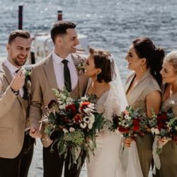 A chic wedding on Lake Maggiore in Spring