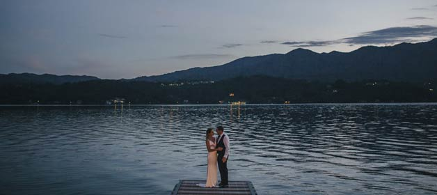 A relaxed and intimate wedding on Lake Orta