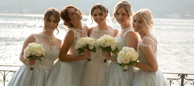 Elegant and Chic Wedding on Lake Orta