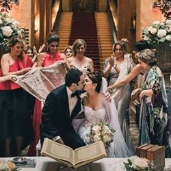 A super charming Persian wedding on Lake Como