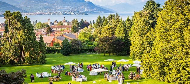 An Elegant Wedding Reception at Villa Muggia – Stresa, lake Maggiore