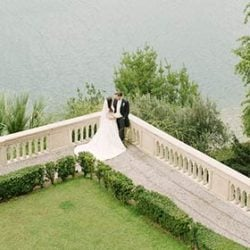 An elegant wedding at Isola del Garda