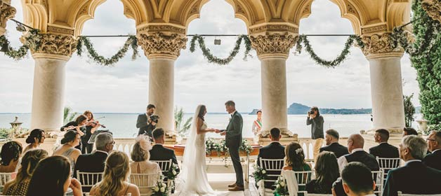 A fairytale destination wedding on Lake Garda