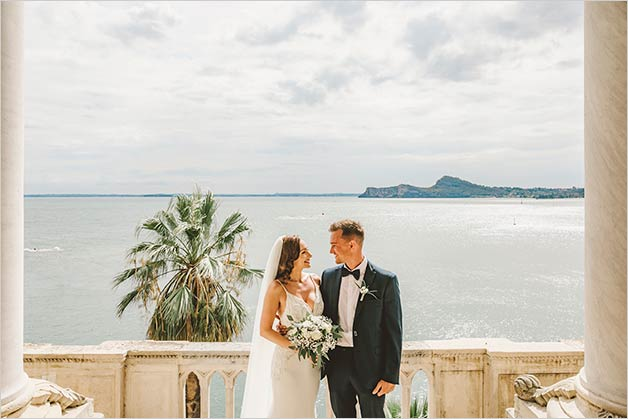 Destination wedding on Lake Garda