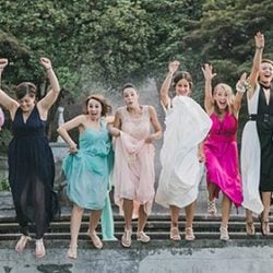 A refined and fun wedding in Villa Muggia