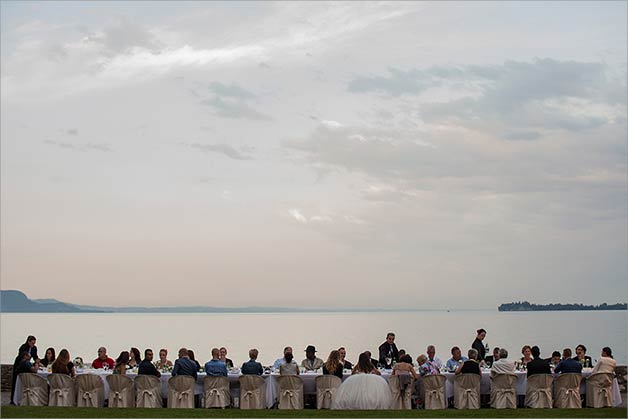 Gardone Riviera wedding reception venue