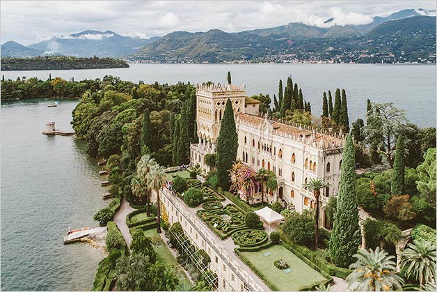 Isola del Garda wedding venue Lake Garda