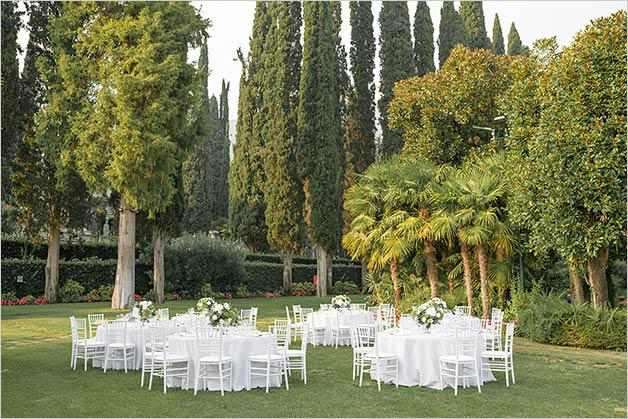 Torri del Benaco wedding reception venue