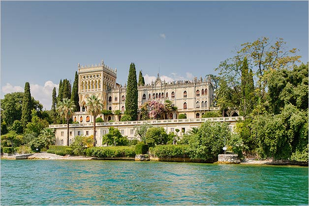 Isola del Garda wedding ceremony