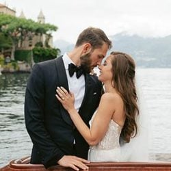 Dan & Sasha, a very chic wedding at Villa d'Este