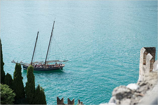 Sailing cruise on Lake Garda
