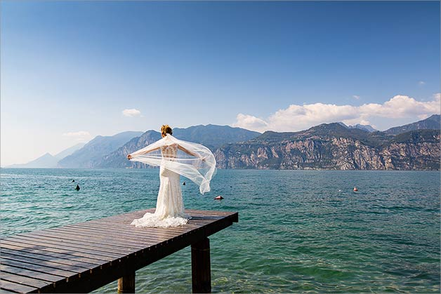 Eiva del Garda, wedding on Lake Garda