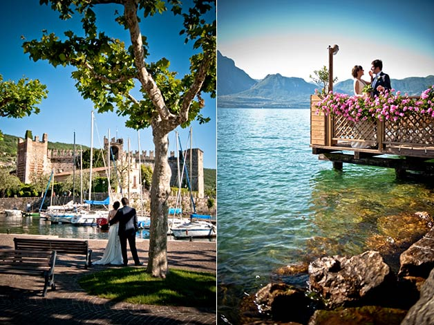 Wedding in Torri del Benaco lake Garda