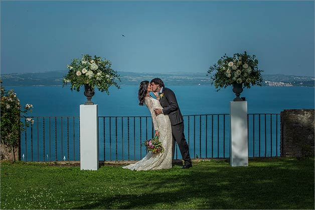 Odescalchi Castle wedding Lake Bracciano june 2019