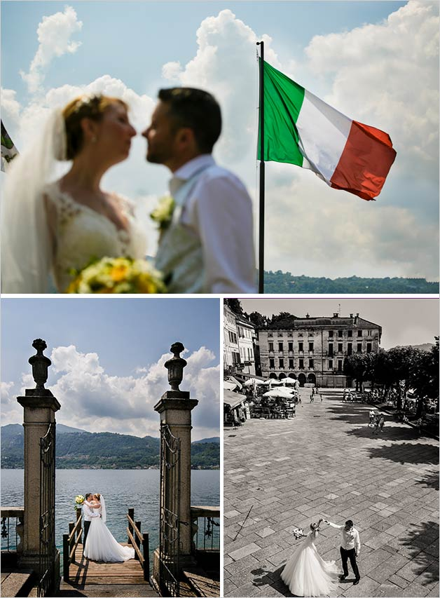 Orta Lake wedding planner