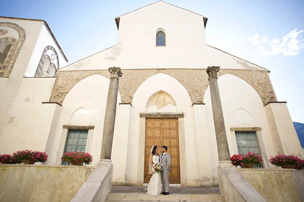 Wedding in Ravello Italy June 2019