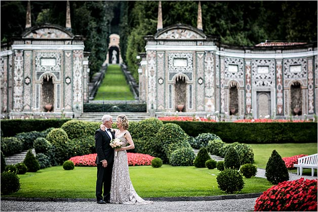 Villa d'Este wedding on Lake Como