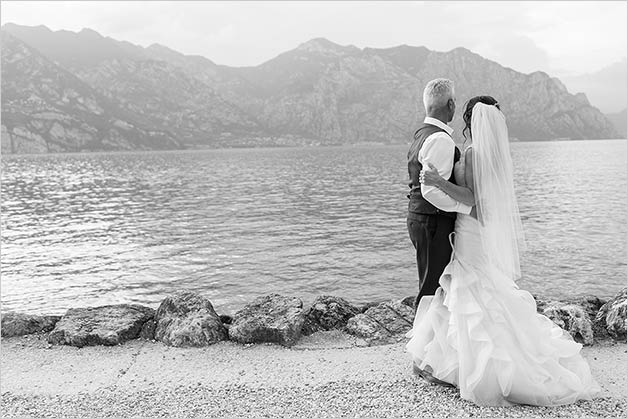 Sarah and Paul's wedding on Lake Garda