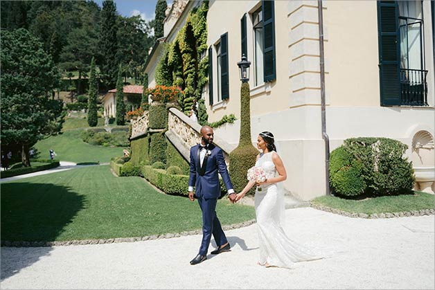 Weddings on Lake Como for August 2019