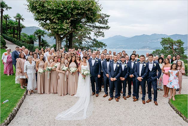 Weddings in Villa Balbianello for August 2019