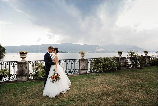 Weddings in Villa Rusconi on Lake Maggiore