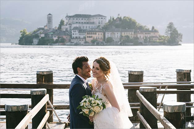Weddings on Lake Orta August 2019