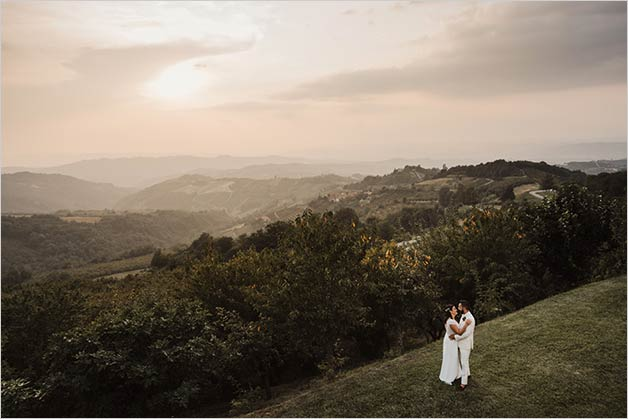 Country wedding in Monferrato Italy