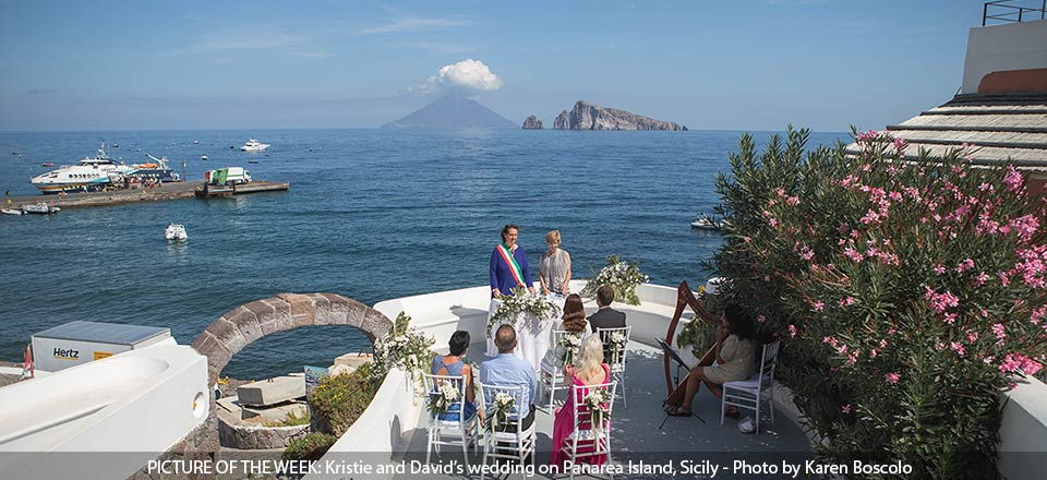 Wedding on Panarea Island, Sicily