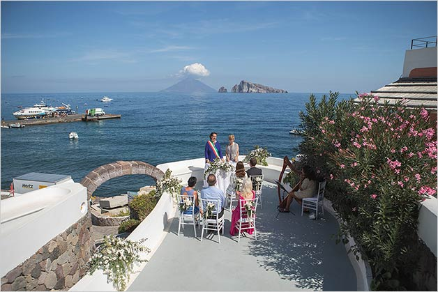 Wedding in Sicily on Panarea Island