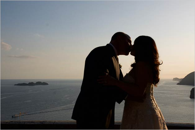 Positano wedding in September