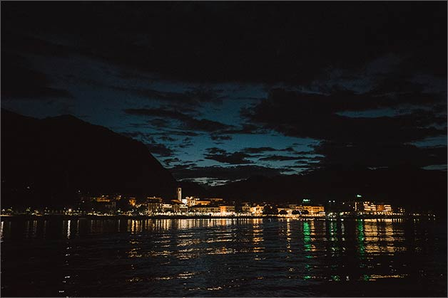 late at night party with a wonderful tour on Lake Maggiore