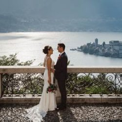 Lake Orta and a Country Chic wedding by the shores