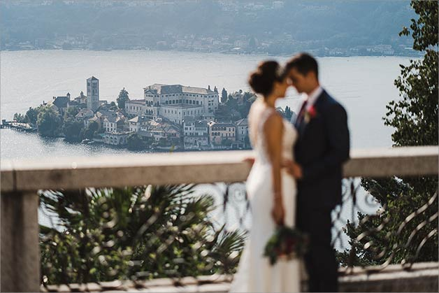Lake Orta Country Chic wedding by the shores