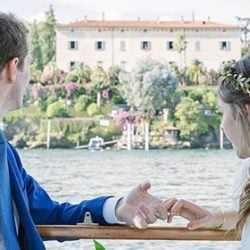 A Mediterranean Themed Wedding on Lake Maggiore
