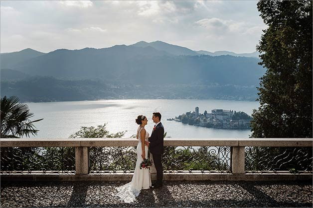 Sacro Monte Orta wedding photo session