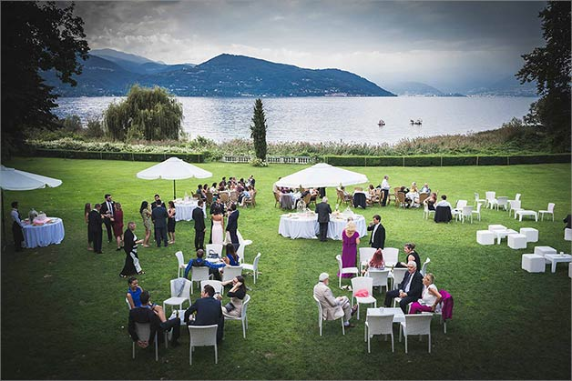 Wedding on Lombardy side of Lake Maggiore