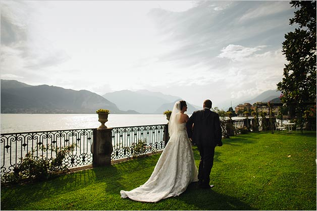 wedding ceremony by the shores on Lake Maggiore
