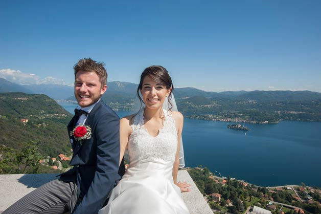 Wedding on Lake Orta