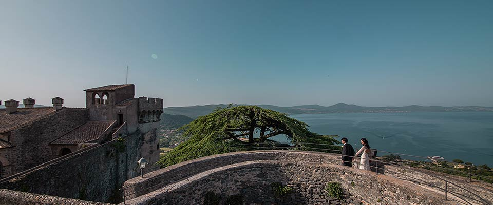 elope at Odescalchi Castle on lake Bracciano