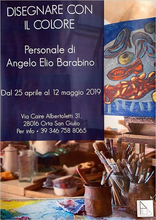 Elio Barabino's exhibition at Palazzo Ubertini