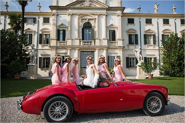 Wedding in Palladian Villas